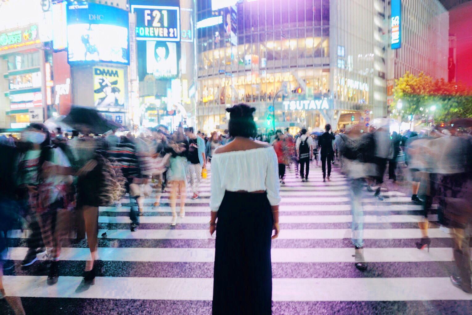 Shibuya Crossing -Tokyo, Japan