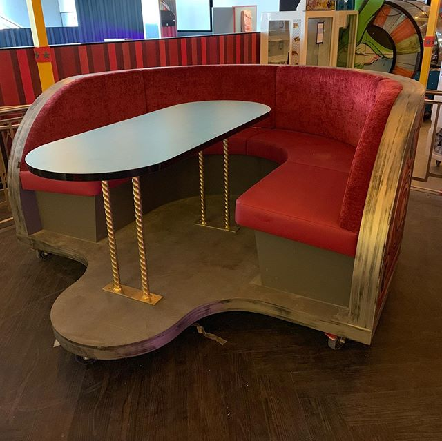 There's no end to the team's talent. Awesome eating booths we built for Archie Brothers at the Docklands. Great work from our friends at Cormio Upholstery  #ArchieBrothers #booth-seating#fun night out