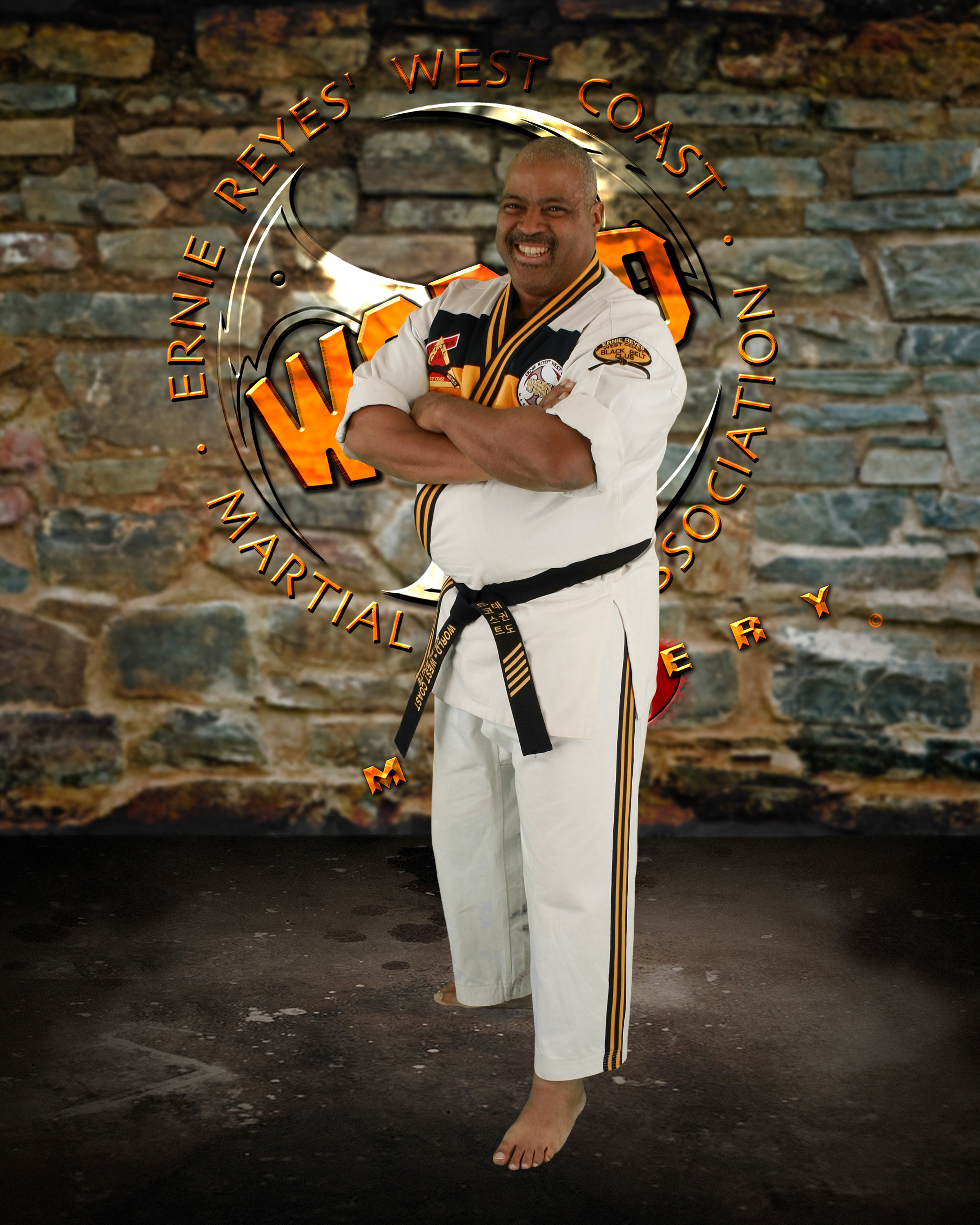 KJN Keith White - KJN Keith has been with the West Coast World Martial Arts Association for over 17 years. He also has experience in Tae Kwon Do, Shotokan, Jiu Jitsu, Krav Maga, and the combat art of Lynxx.KJN Keith teaches adult only classes on Monday and Wednesday evenings 645-730pm.