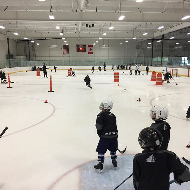 It's that time of year again! Week 1 of 6, ready to have fun and put the hard work in. #soldout #bauer #barronhockey #youthhockey #grassroots
