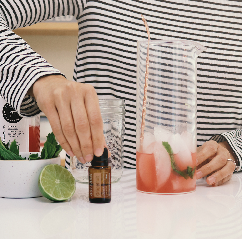 doTerra wild orange essential oils