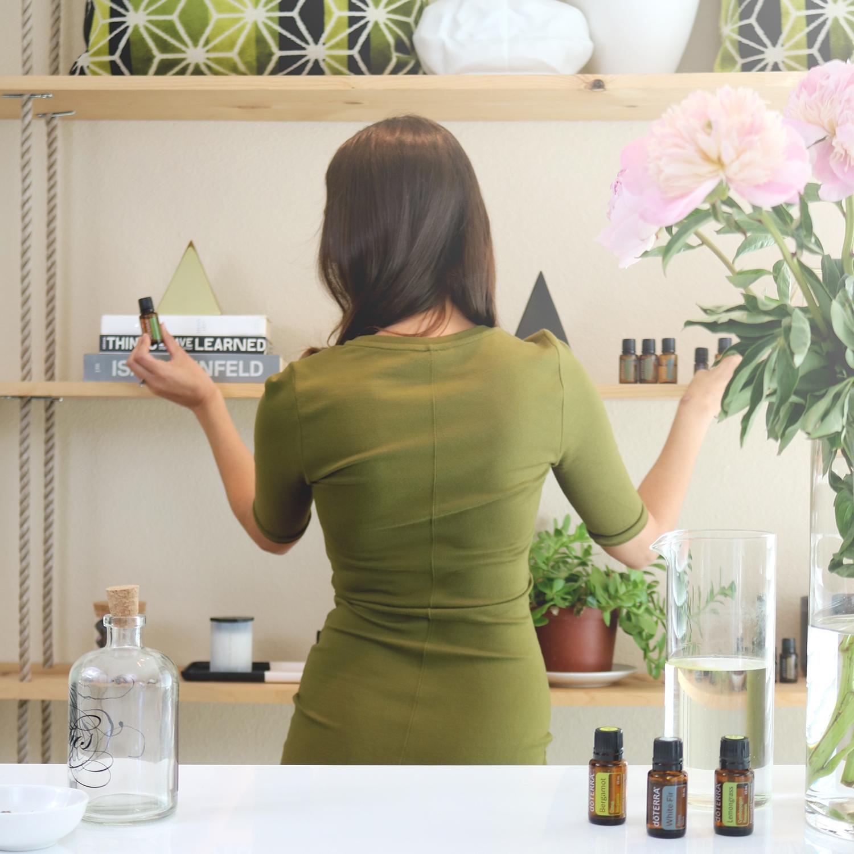 Dr Melissa Esguerra Marin office for essential oils