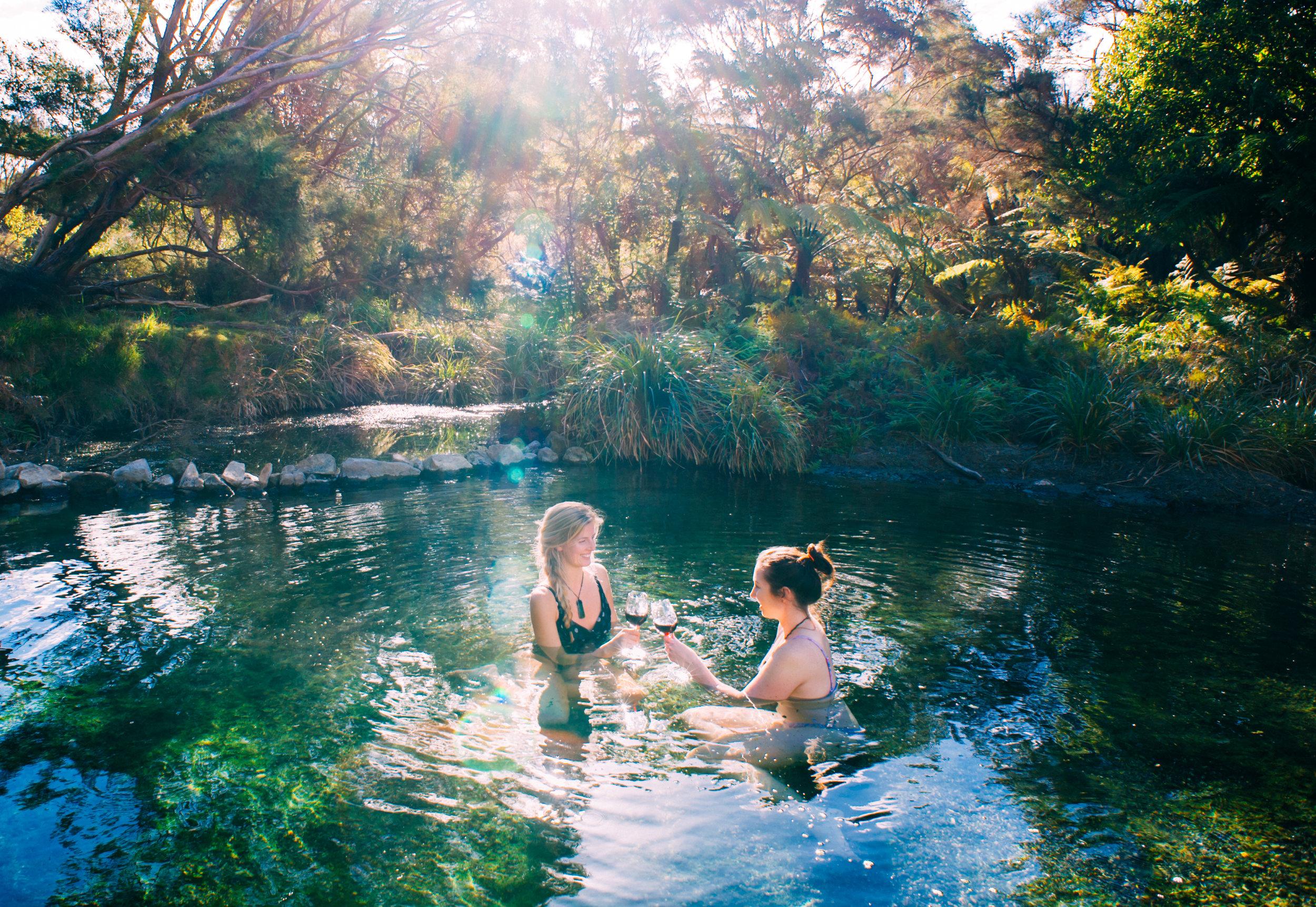 Tarawera Hot Spring - Ocean Patrice