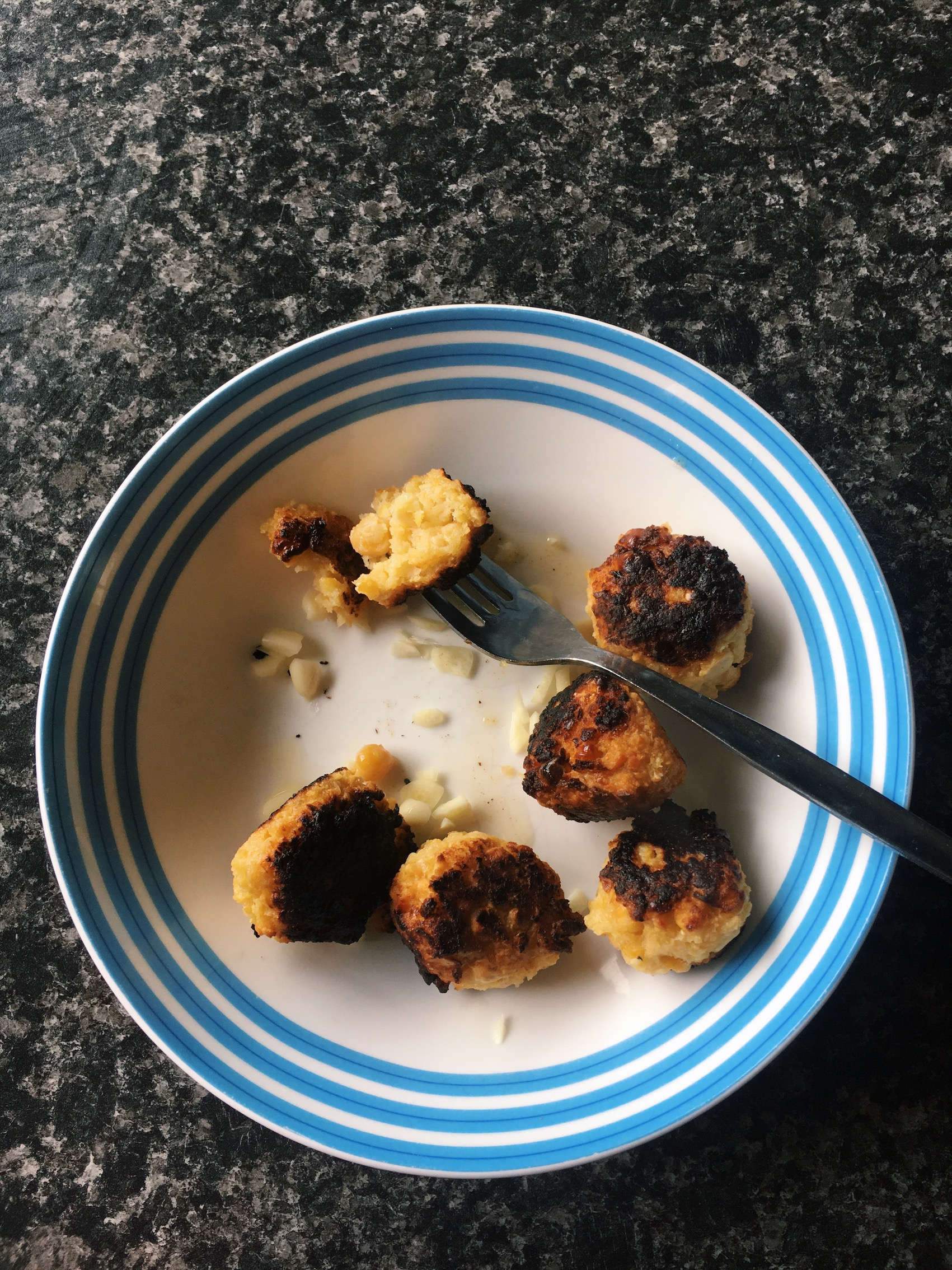 Burnt my chickpeas, no salt or flavouring, but they were INCREDIBLE.