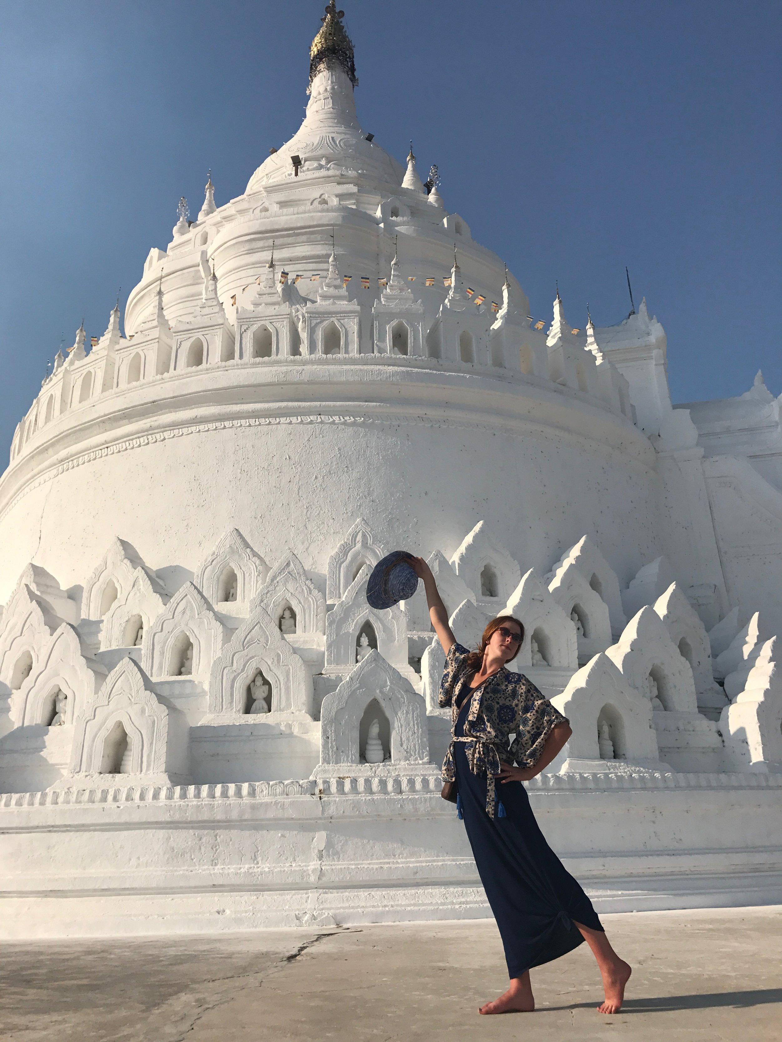 On Honeymoon in Myanmar