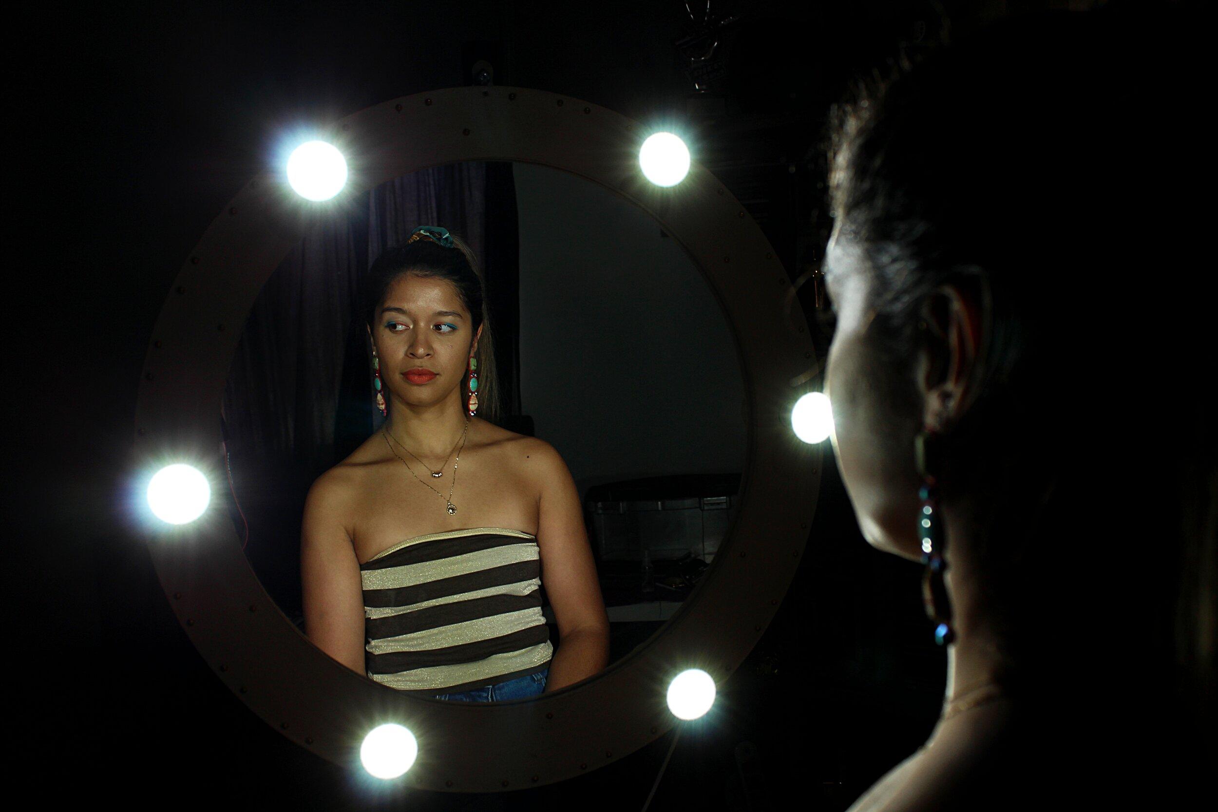 **Vanity mirror made by Robin Veldsman