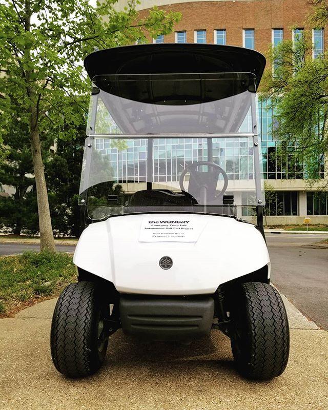 The training wheels are off  #vanderbilt #vanderbiltuniversity #engineering #vuengineering #vandygram #vandy #IBM #autonomous #robotics #vuemergingtechlab #vuse