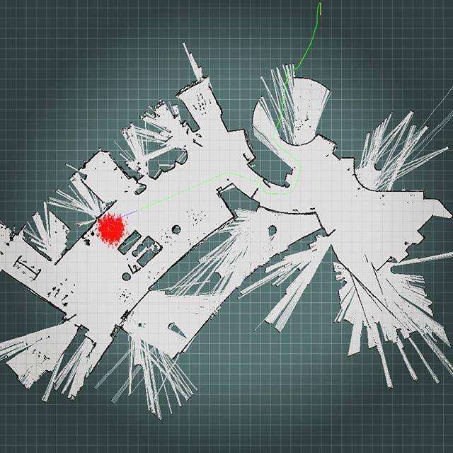 Mapping the 🍕 pickup  @papajohns  #vanderbilt #vanderbiltuniversity #engineering #vuengineering #vuse #vandygram #vandy #IBM #autonomous #robotics #vuemergingtechlab