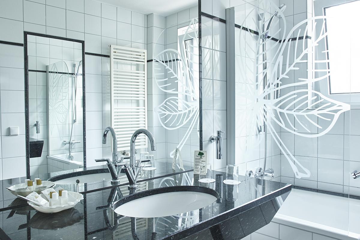 Alle Bäder mit Tageslicht | All bathrooms with daylight
