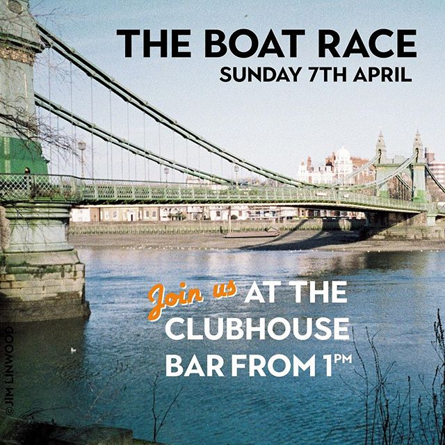 📣📢 Members Shout Out 📢📣 The bar will be open for this years Boat Race. Join us to watch all the action!  Families and friends welcome 👊🏻🚣‍♀️