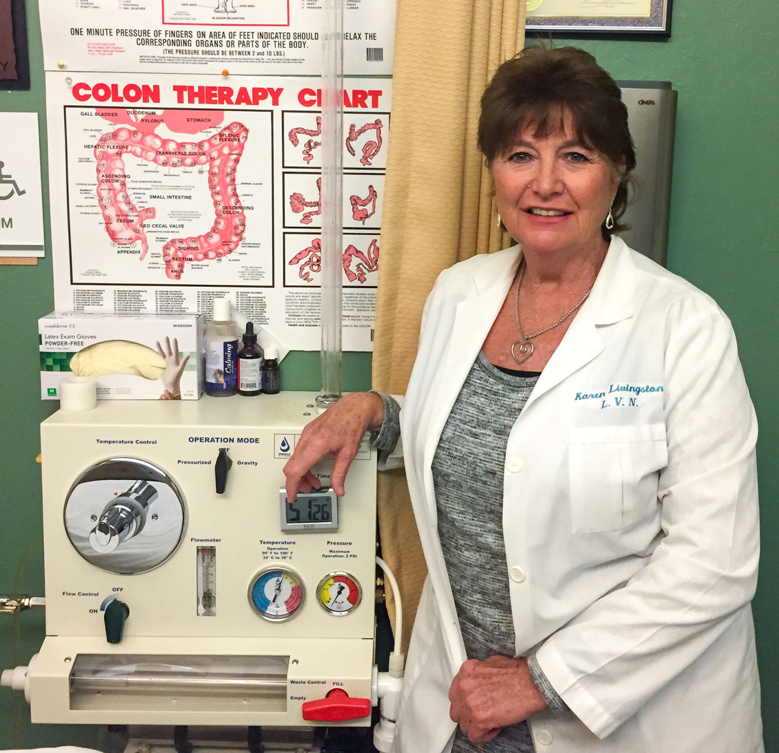 Karen Livingston - Harmony Healing CenterColon Hydrotherapist