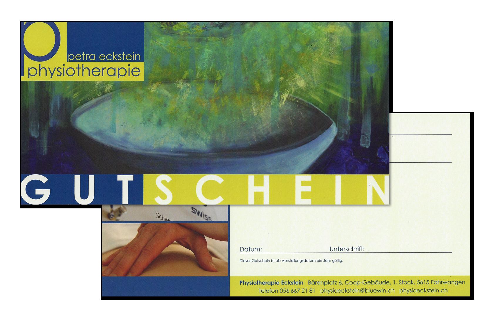 Gutschein Physiotherapie Petra Eckstein
