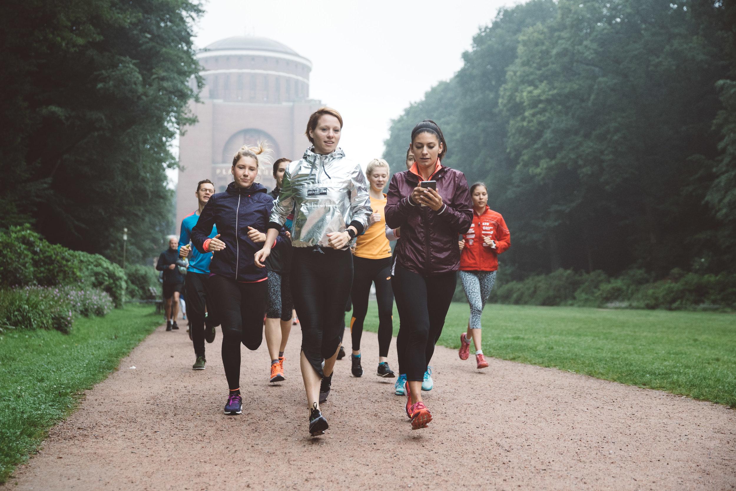 Shake Out Run w/ Running Squad Hamburg