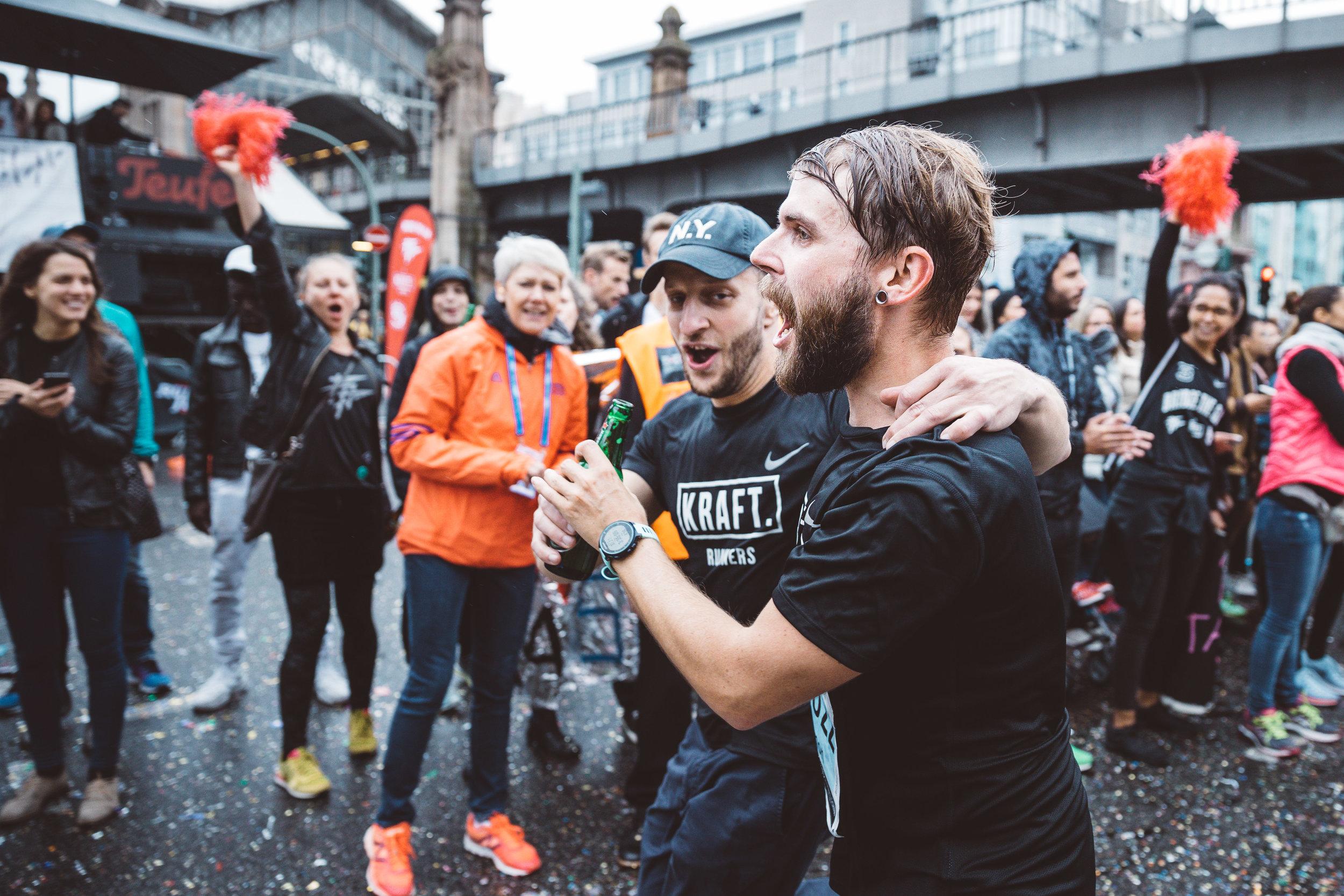 Extra KRAFT beim Berliner Marathon 2017