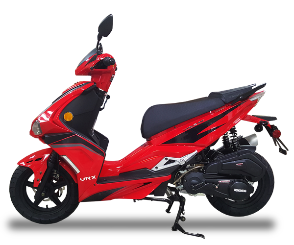 VRX - · Engine: 150cc· Air-Cooled· LED Front Lights· LED Tail Lights· Lightweight· Colors: Red, White & GreyRequest Parts>Request Service>