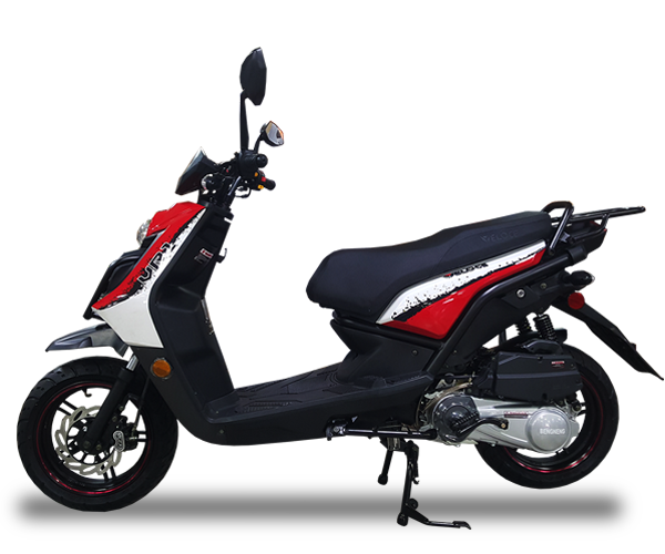 VR1 - · Engine: 150cc· Air-Cooled· LED Front Lights· LED Tail Lights· Lightweight· Colors: Red, White & GreyRequest Parts>Request Service>