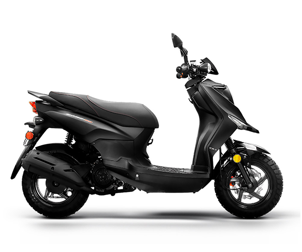 Cabo 200i - · Engine: 200cc· Fuel Injection· 65 MPH· 89 MPG· Disc Brakes· Knobby Tires· Colors: Black, Red or GreenRequest Parts>Request Service>