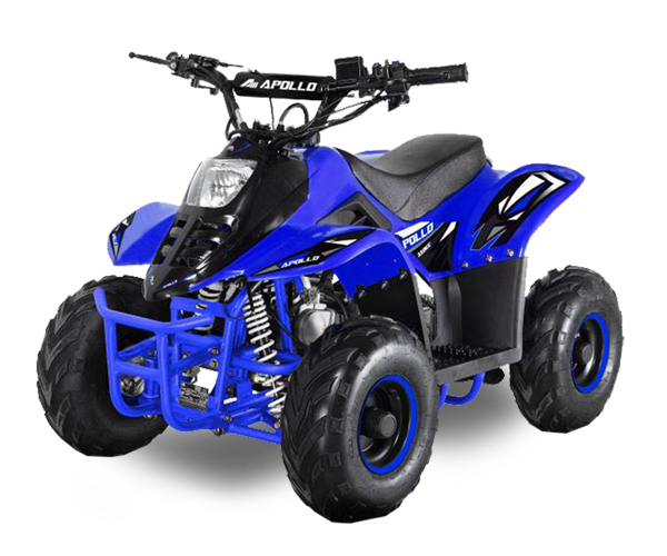 Apollo Micro - · Engine: From 70cc to 110cc· Fuel Power: Gasoline· Transmission: Automatic· Starter: Electric· Brakes: Discs / Drum