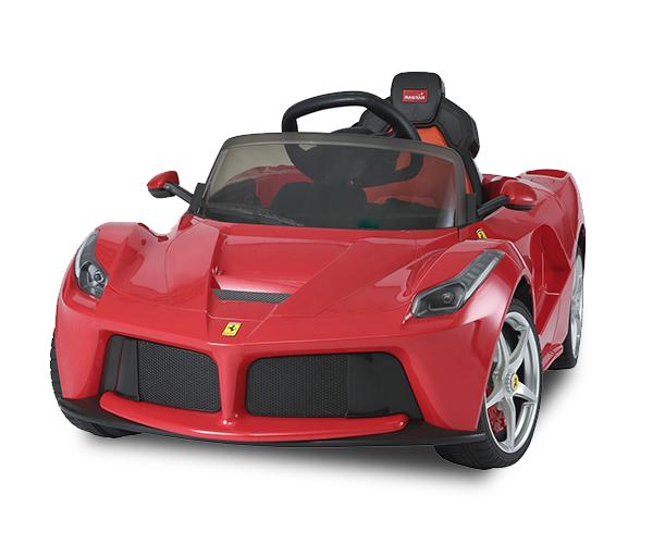 Ferrari - · Ages: 2 - 6· Engine: 12V· Remote Controller· LED Lights· Speakers· Sound FX· Official Licensed Product