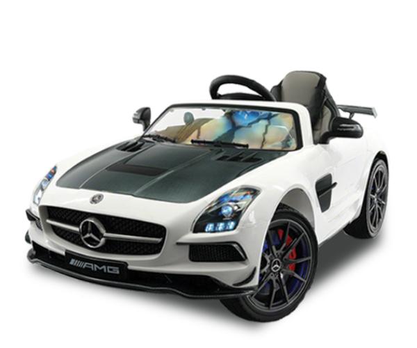 Mercedes - · Ages: 2 - 6· Engine: 12V· Remote Controller· LED Lights· Speakers· Sound FX· Official Licensed Product