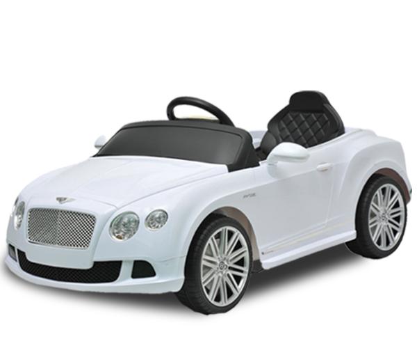 Bentley - · Ages: 2 - 6· Engine: 12V· Remote Controller· LED Lights· Speakers· Sound FX· Official Licensed Product