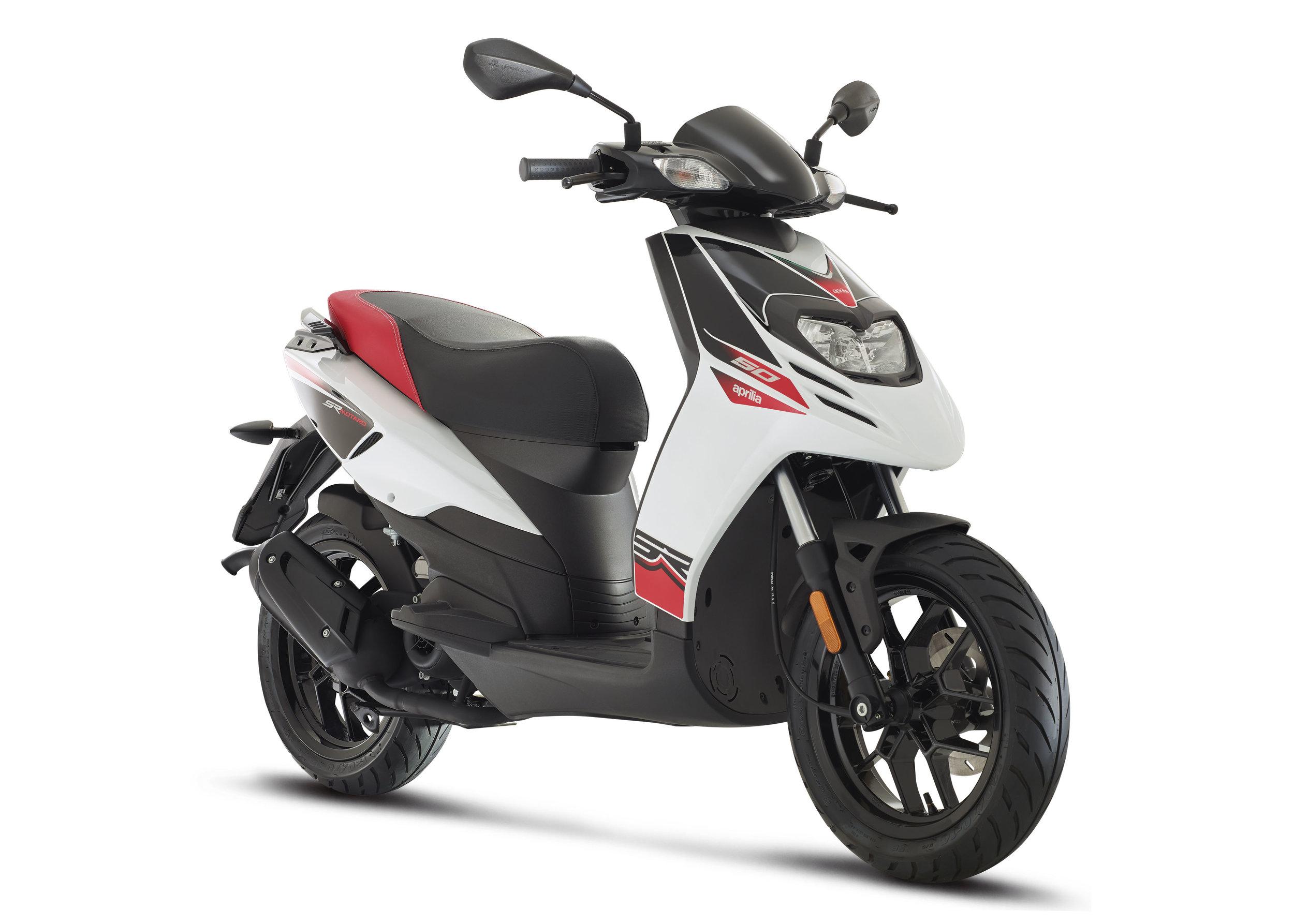 Aprilia SR MOTARD 50 - 50cc14'' Wheels220mm Front Disc BrakesLCD Display