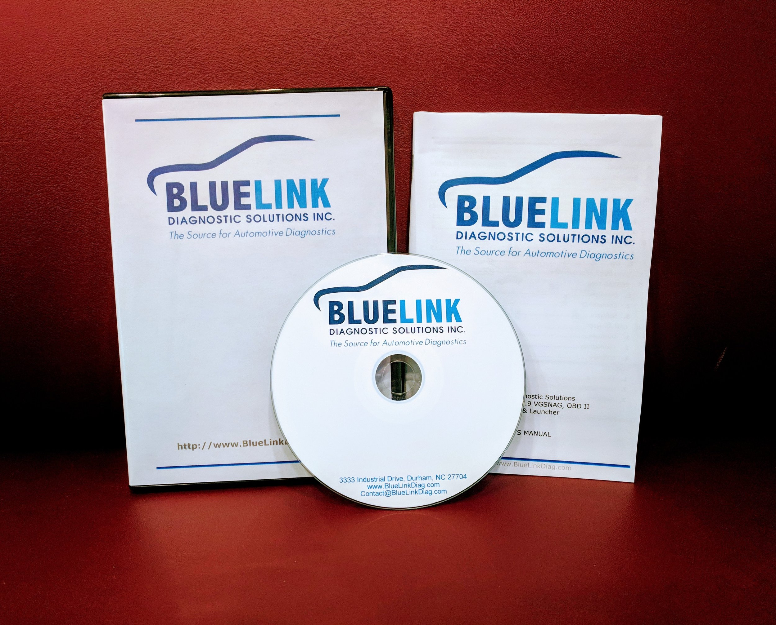 Software License : BlueLink Software and 1 yr. subscription (use your J2534 device)
