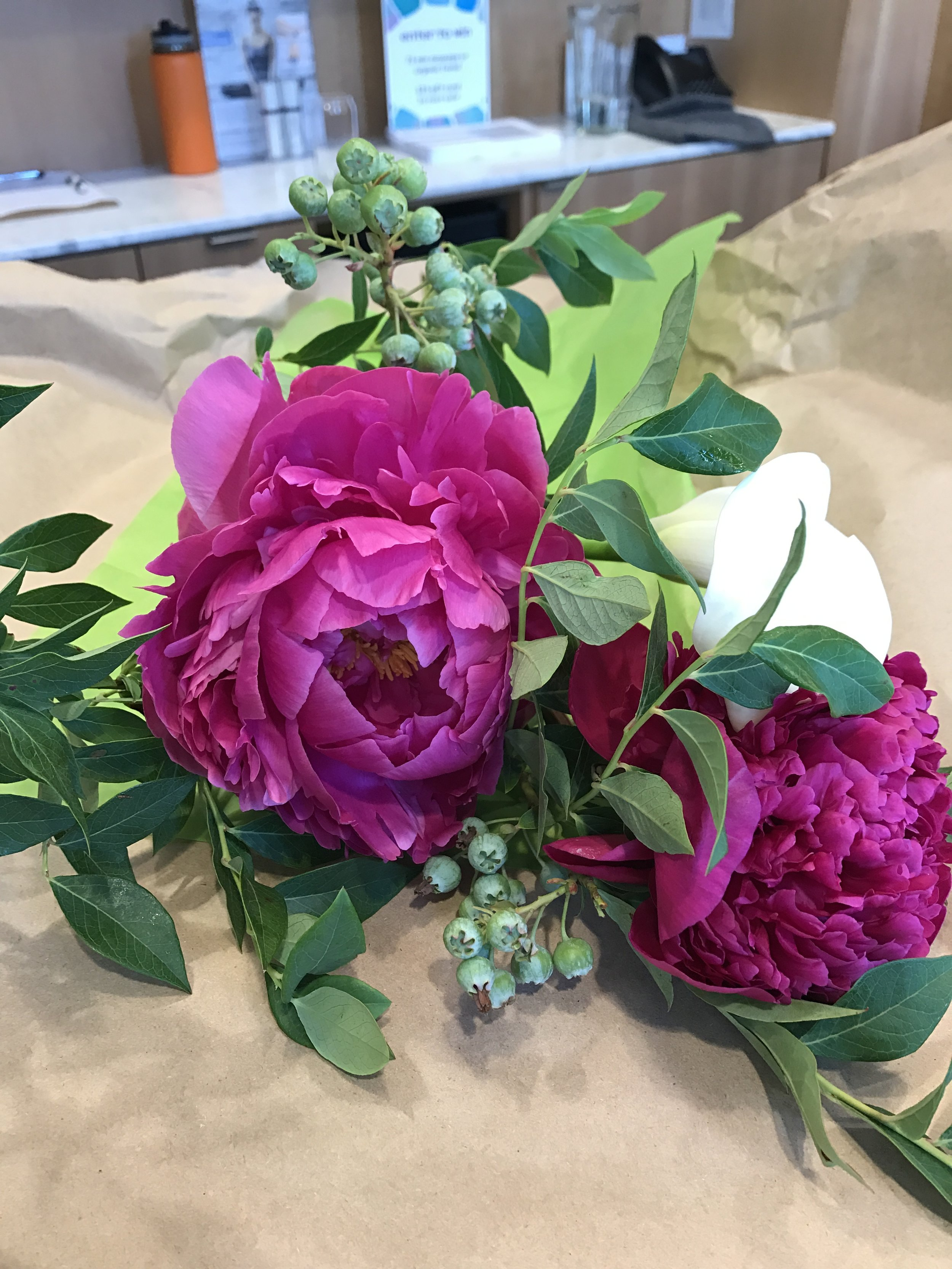 Gorgeous Flowers from Kat Starbird!
