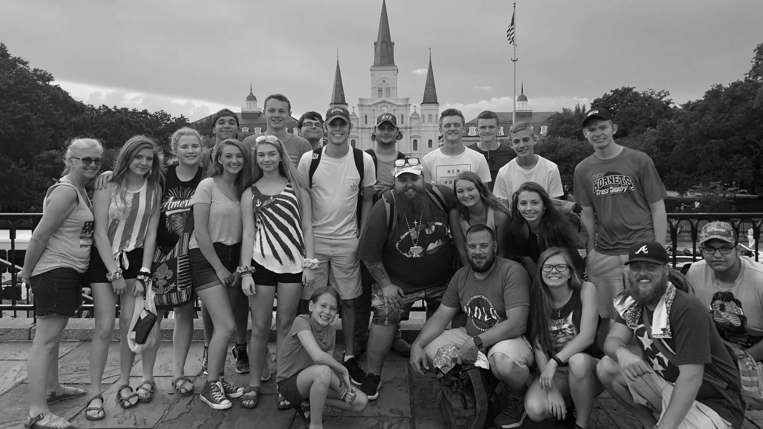 412 Student Ministry mission trip at Journey Church in Jackson TN