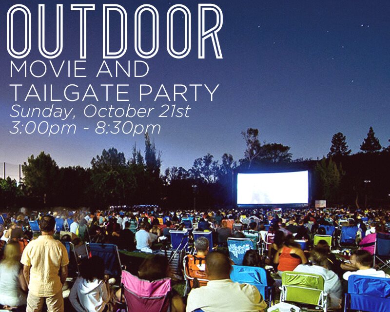 OUTDOOR MOVIE AND TAILGATE PARTY AT JOURNEY CHRUCH IN JACKSON, TN.