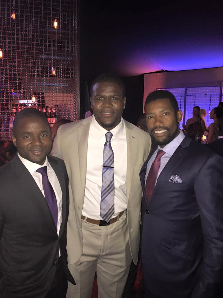 erik with CAA agent justin castillo and cardale jones.jpg