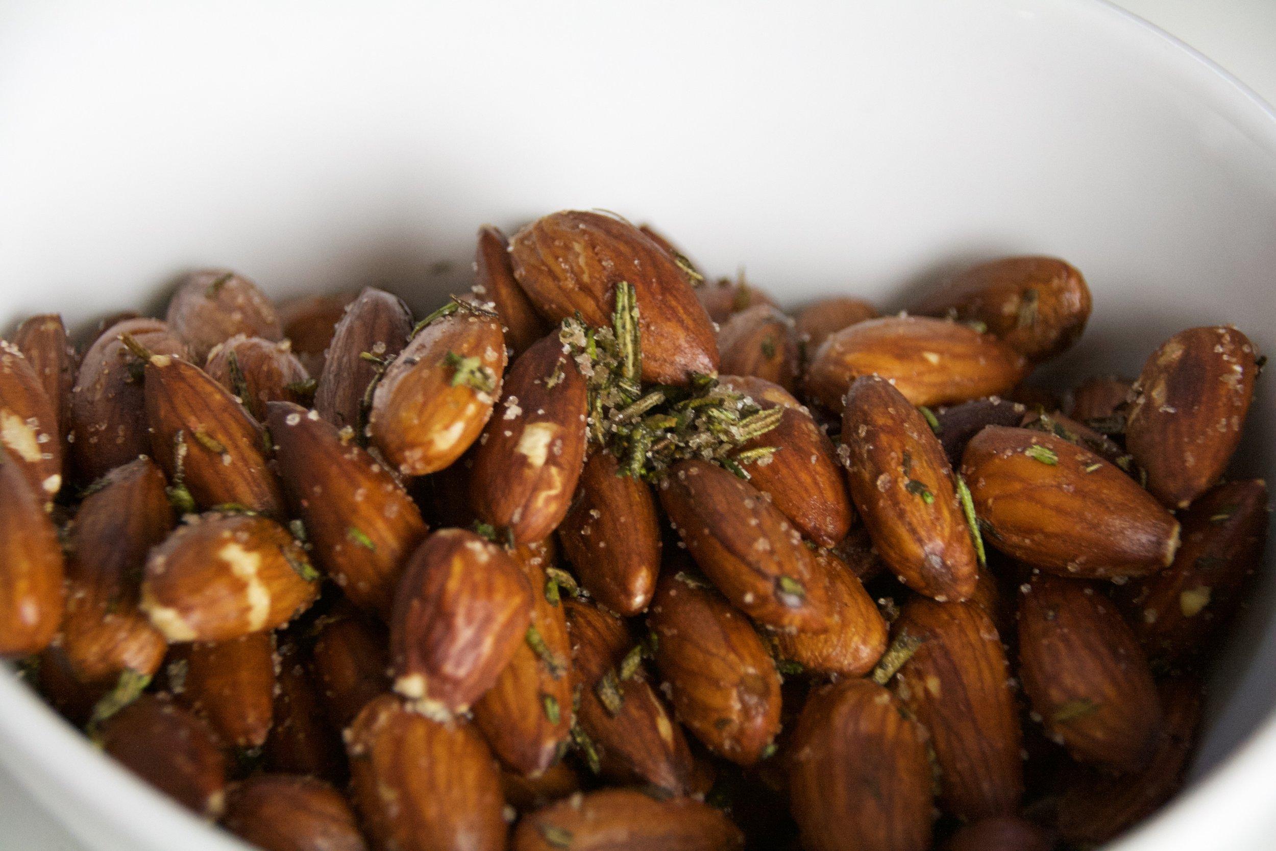 Rosemary Sea Salt Almonds