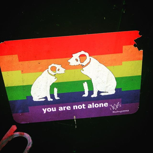 Let your LGBTQ friends know that they have you on their side. 🏳️‍🌈 🏳️‍🌈 #streetart #street #streetphotography #pride #billboard #urban #urbanart #urbanwalls #wall #wallporn #graffitiigers #stencilart #art #graffiti #instagraffiti #instagood #artwork #graffitiporn #photooftheday #stencil #streetartistry #bigapple #stayproud #instagrafite #lgbt
