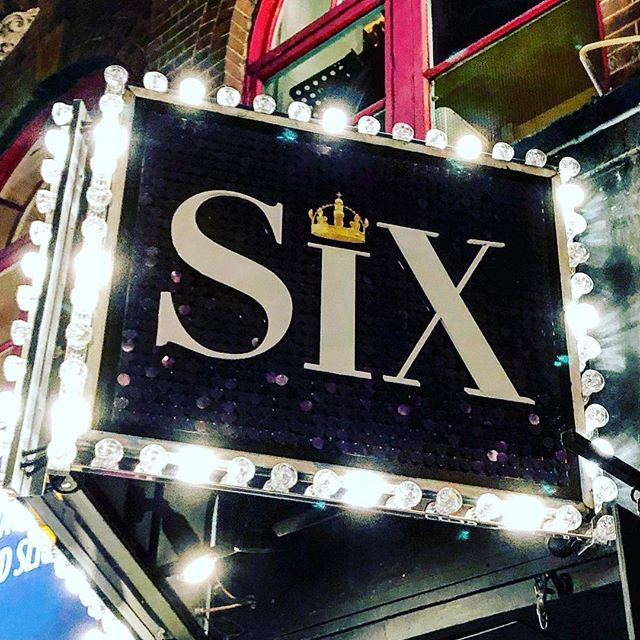 all my f**king dreams came true. thanks @sixthemusical amazing.