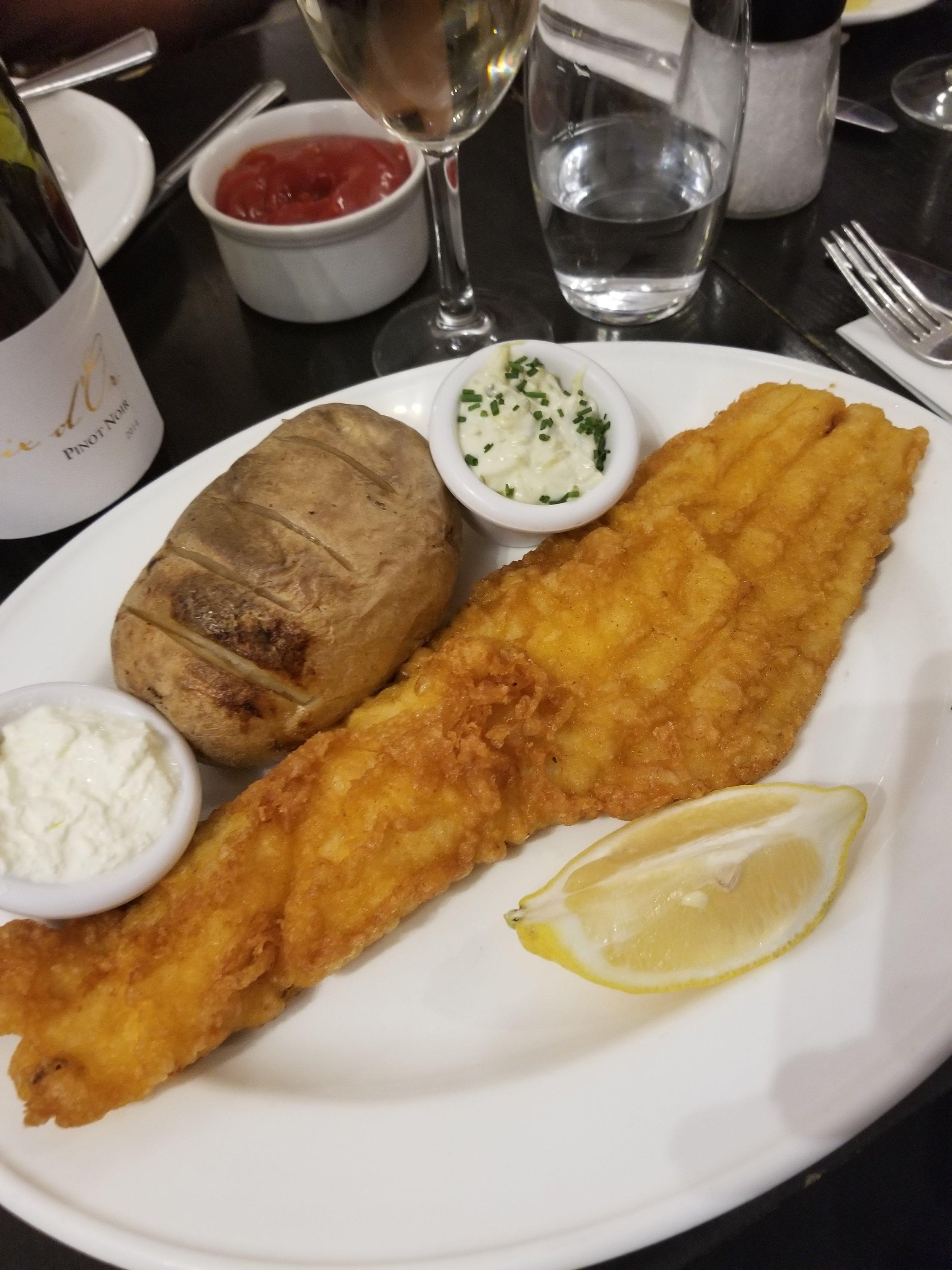 Haddock & Butter Potato
