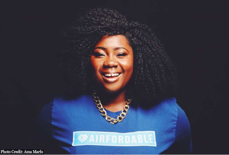 Ama Marfo, CEO and cofounder of Airfordable