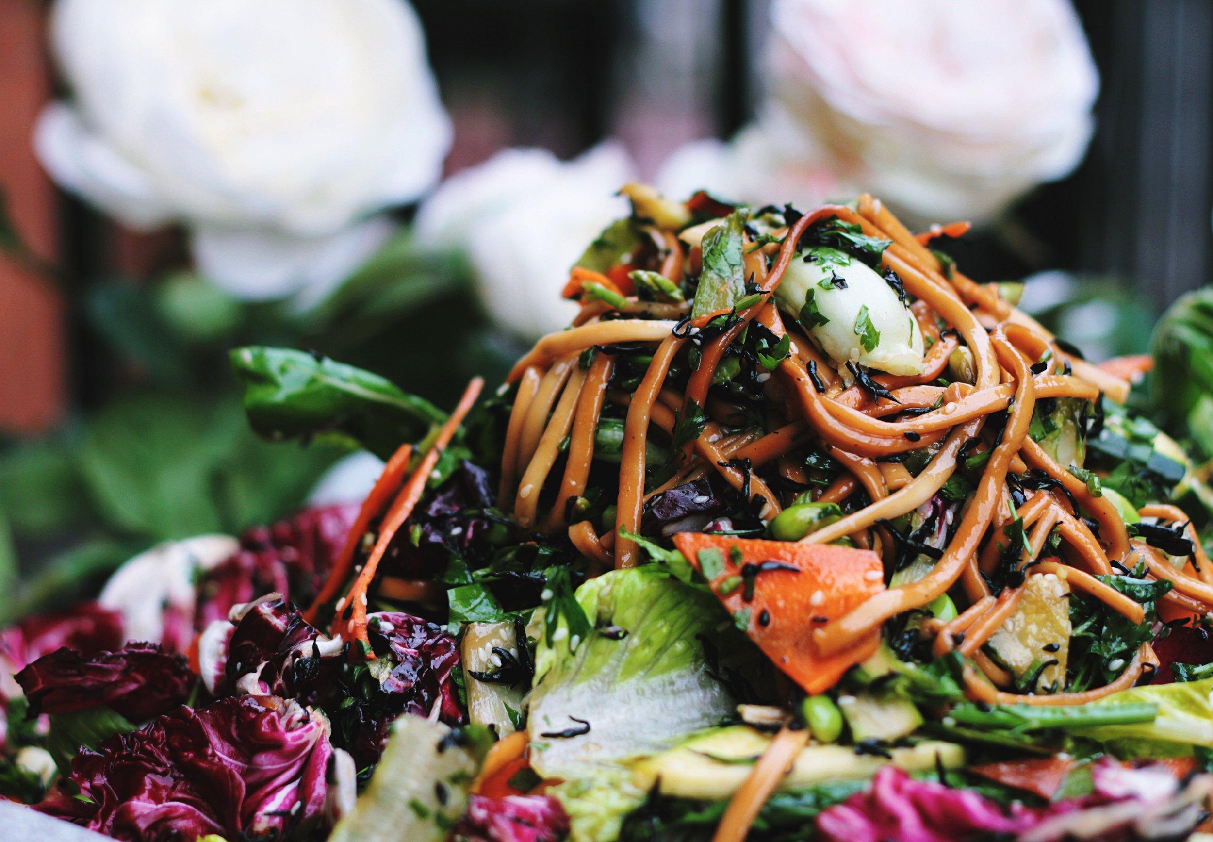 simple vegan & vegetarian recipes -
