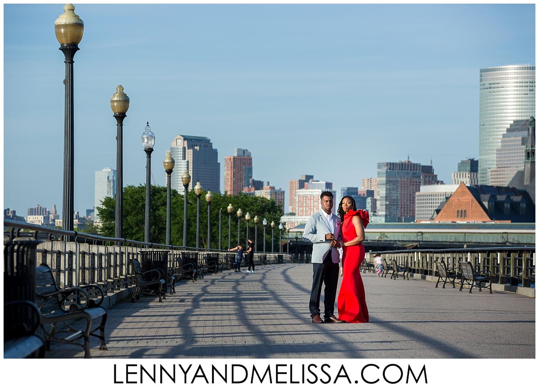 Liberty State Park Engagement Photos