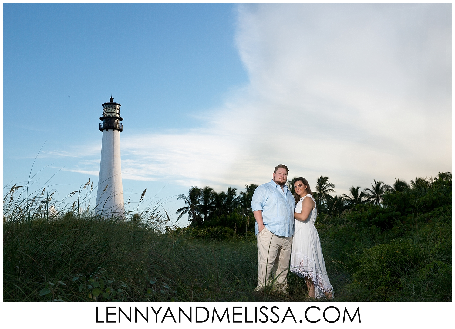 Bill Baggs State Park Engagement