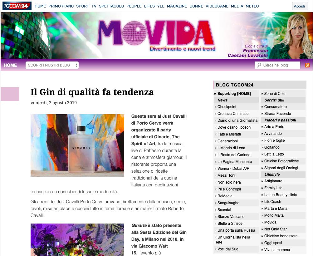 TgCom 24 - Movida