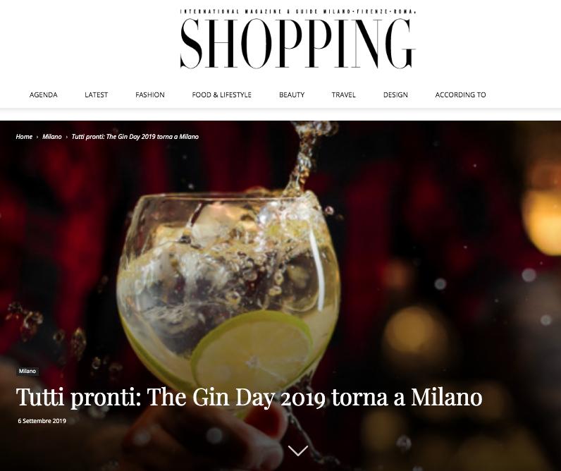 Shopping Milano Roma