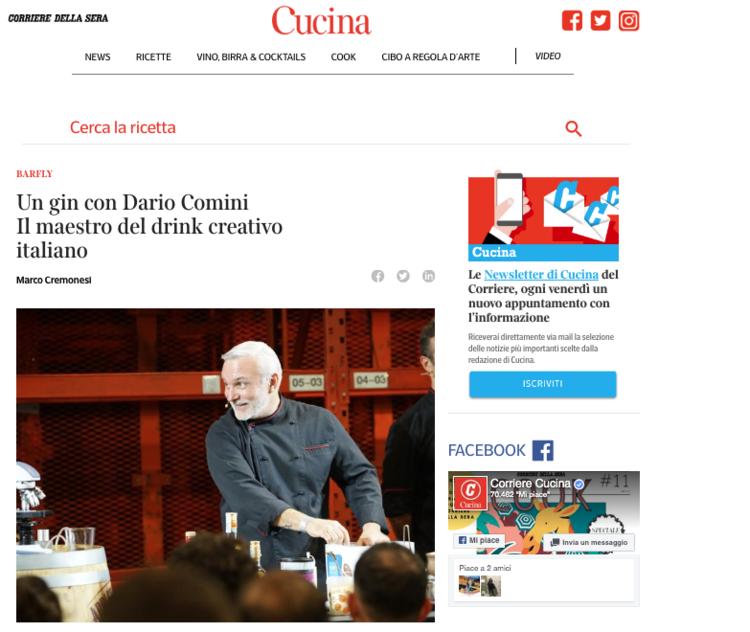 Cucina / Corriere della Sera