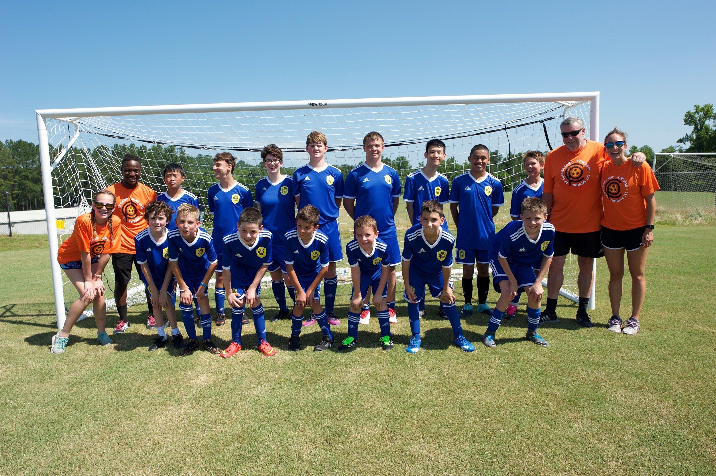 CP Soccer Camp 2018, Clemson Univeristy, SC
