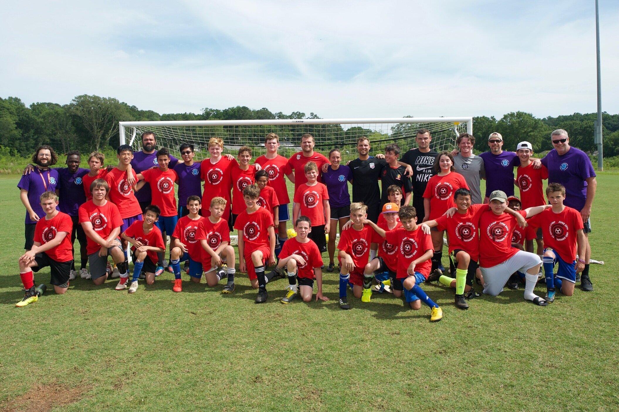 CP Soccer Camp 2019, Clemson University, SC