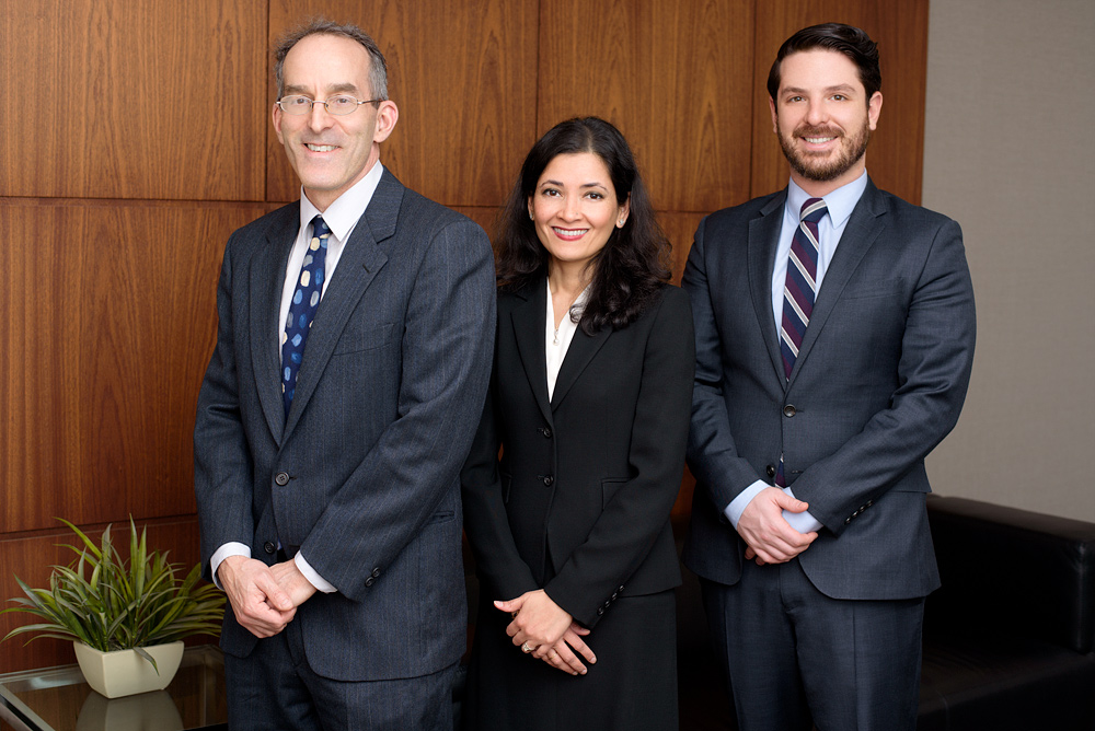 Group Headshot for a Law Firm specialzing in Immigration