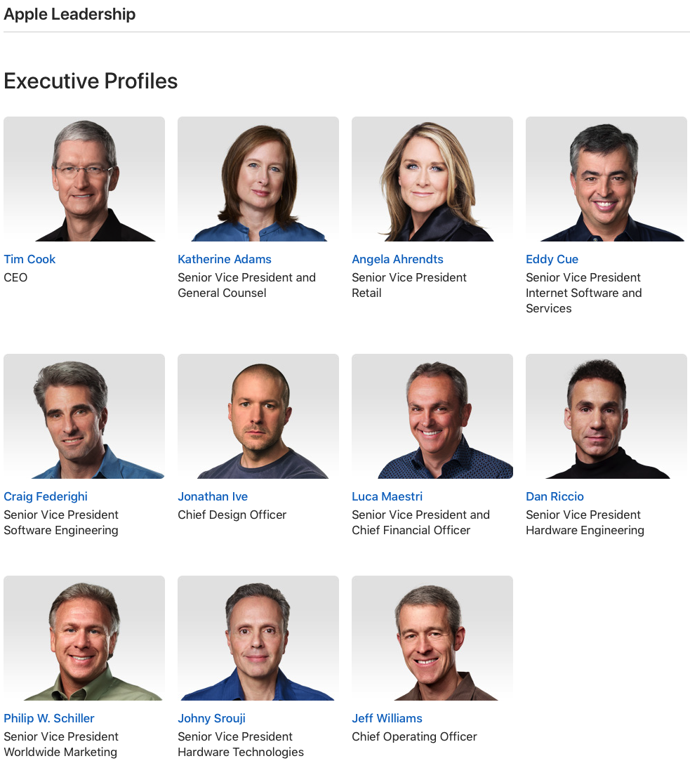 Look at these wonderful people! Making our lives easier with cool technology! I love you Apple! Call me!