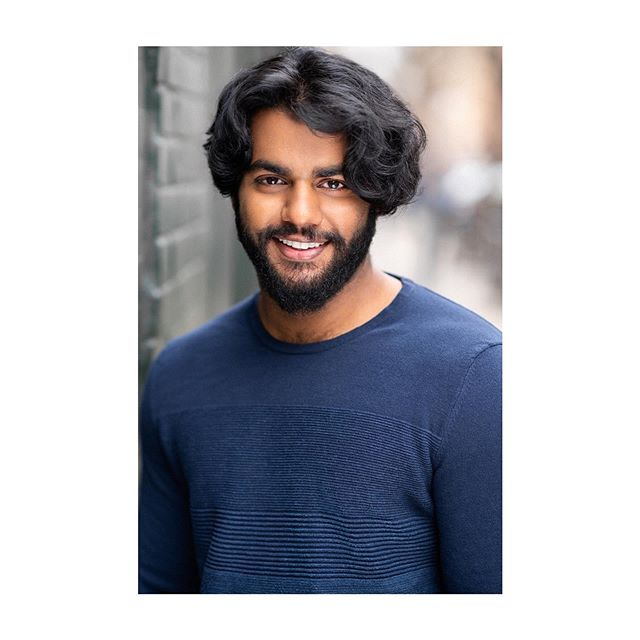 Sagar crushing it with the smile. | Makeup & Hair: @danaarcidy #headshotsnyc
