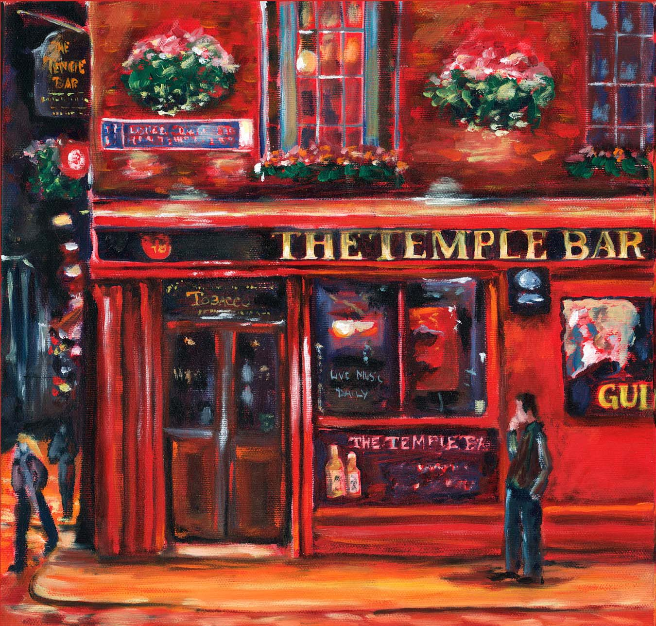 Evening in Temple Bar