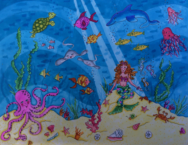 A Mermaid's Life for Me....