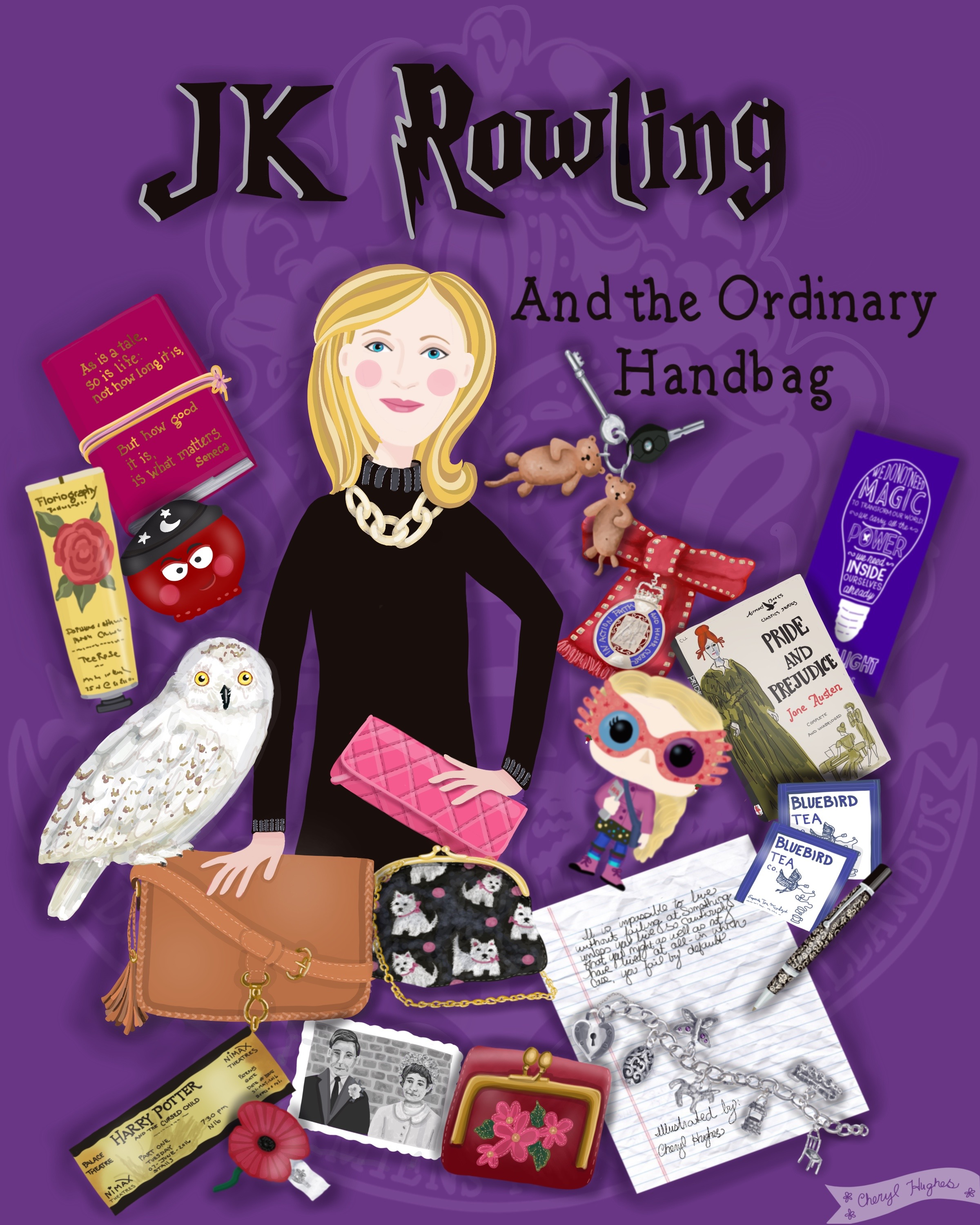 What's in JK Rowling's Bag?